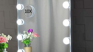 Large Hollywood Vanity Mirror with Lights