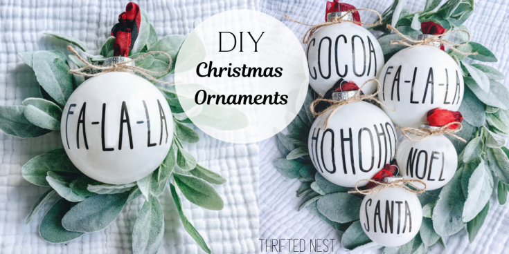 DIY Dollar Tree Christmas Ornaments