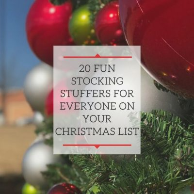 20 Fun Stocking Stuffers for Everyone On Your Christmas List