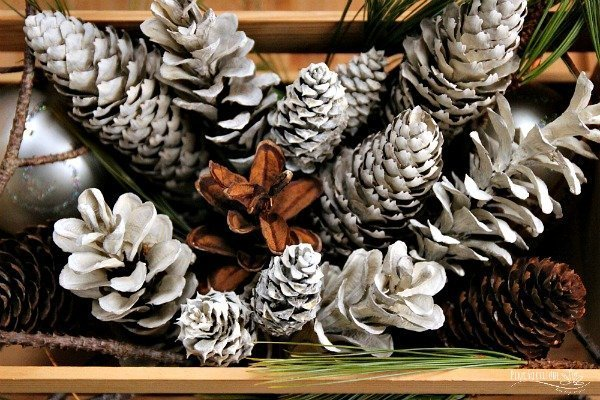 "How to Make ""Bleached"" Pinecones Without Bleach"