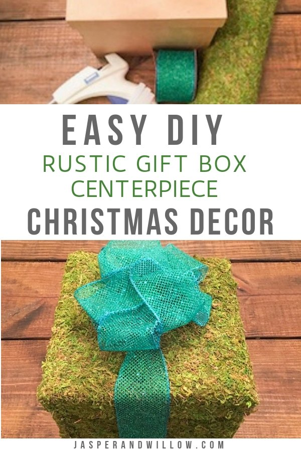 Easy DIY Rustic Christmas Decor Centerpiece You Need To Make
