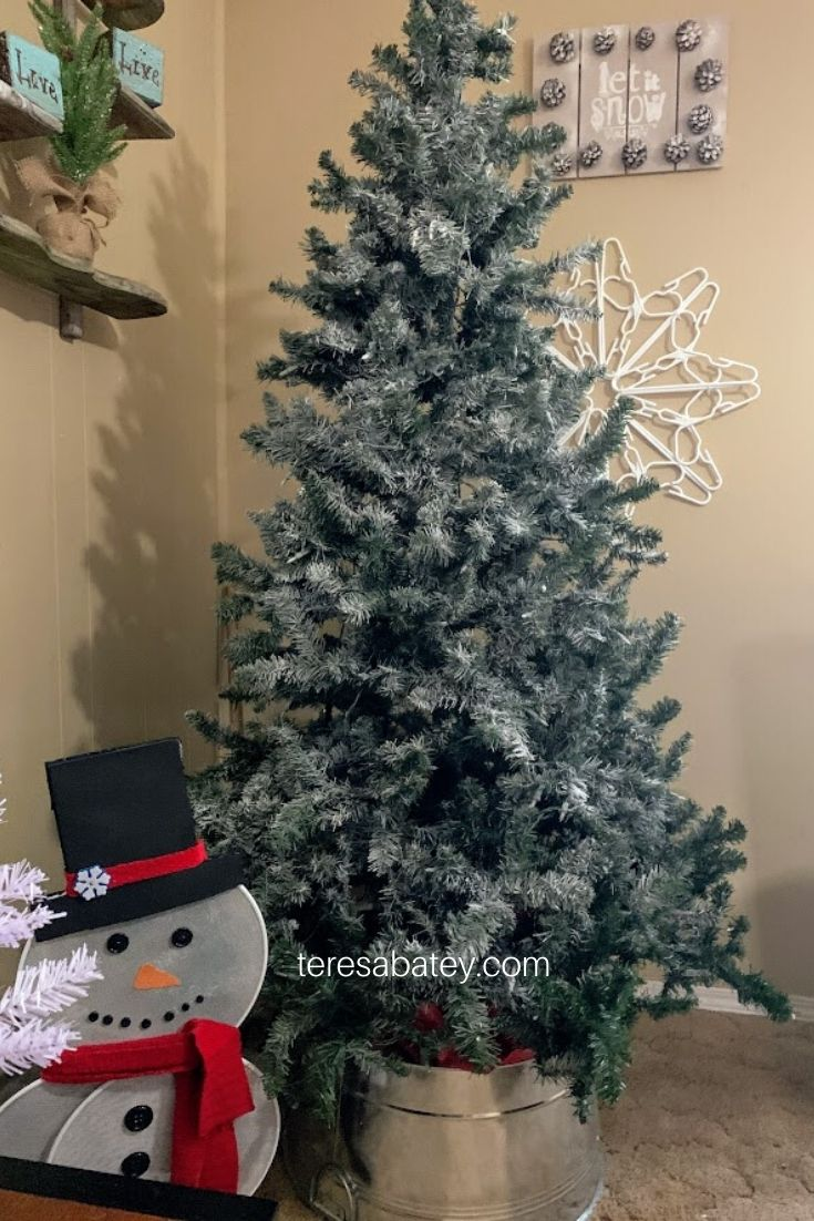 How to transition from Holiday to Winter Decor 5