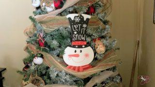 My First Farmhouse Style Christmas Tree