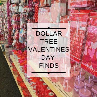 Dollar Tree Valentines Day Finds