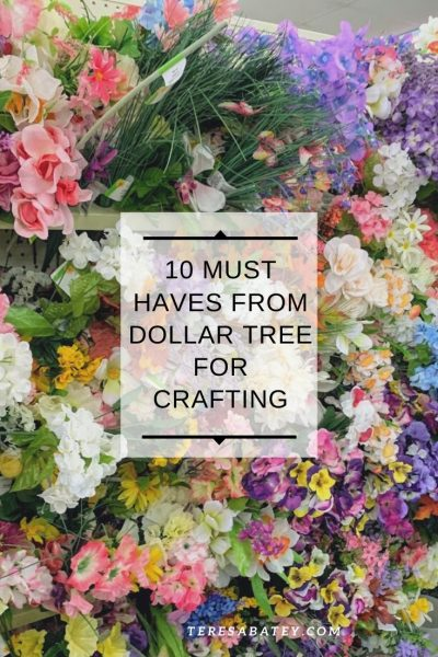 Must Haves From Dollar Tree For Crafting