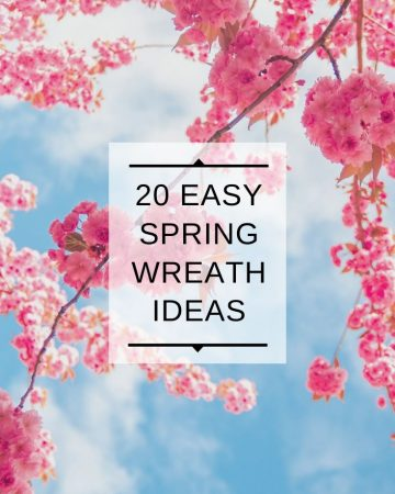 20 Easy Spring Wreath Ideas