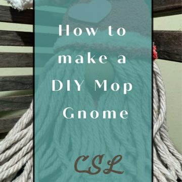 How to make a DIY Mop Gnome