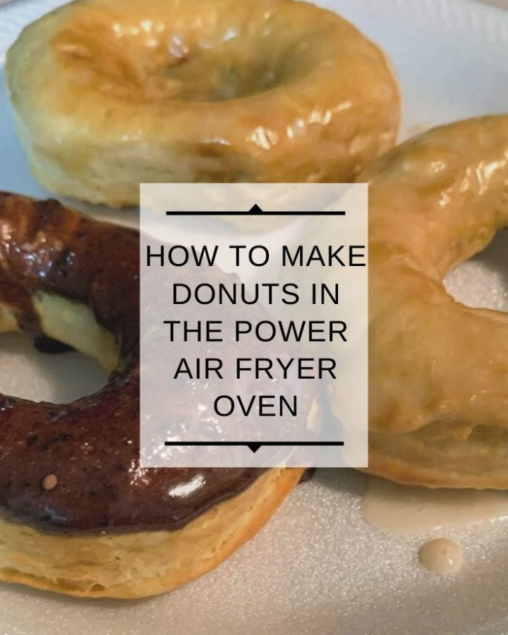 How to make donuts in the Power Air Fryer Pro Oven