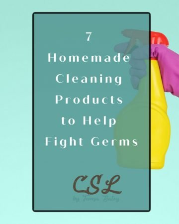 7 Homemade Cleaning Products to Help Fight Germs
