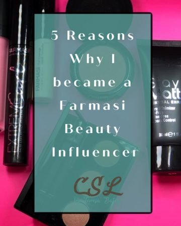 5 Reasons Why I became a Farmasi Beauty Influencer