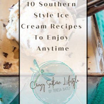 10 Southern Style Ice Cream Recipes