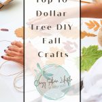 Top 10 Dollar Tree DIY Fall Crafts
