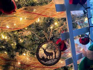 Dollar Tree DIY Christmas Elf Ladder