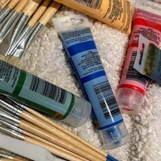 Canvas Painting – My First 2 as a Hobby Painter