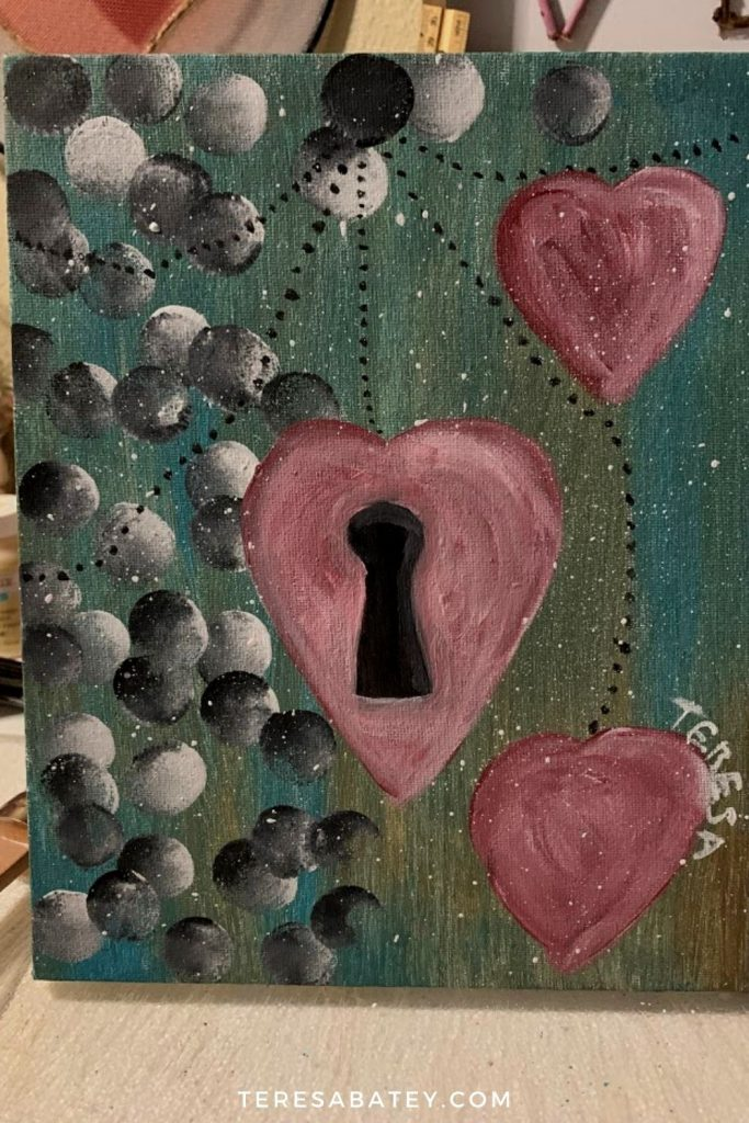 Canvas Painting - My First 2 as a Hobby Painter