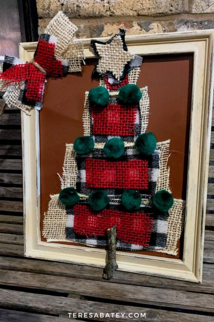 DIY Dollar Tree Christmas Ribbon Tree