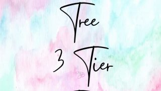 Dollar Tree 3 Tier Tray