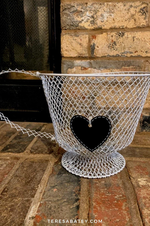 Dollar Tree DIY Wire Wastebasket Coffee Mug