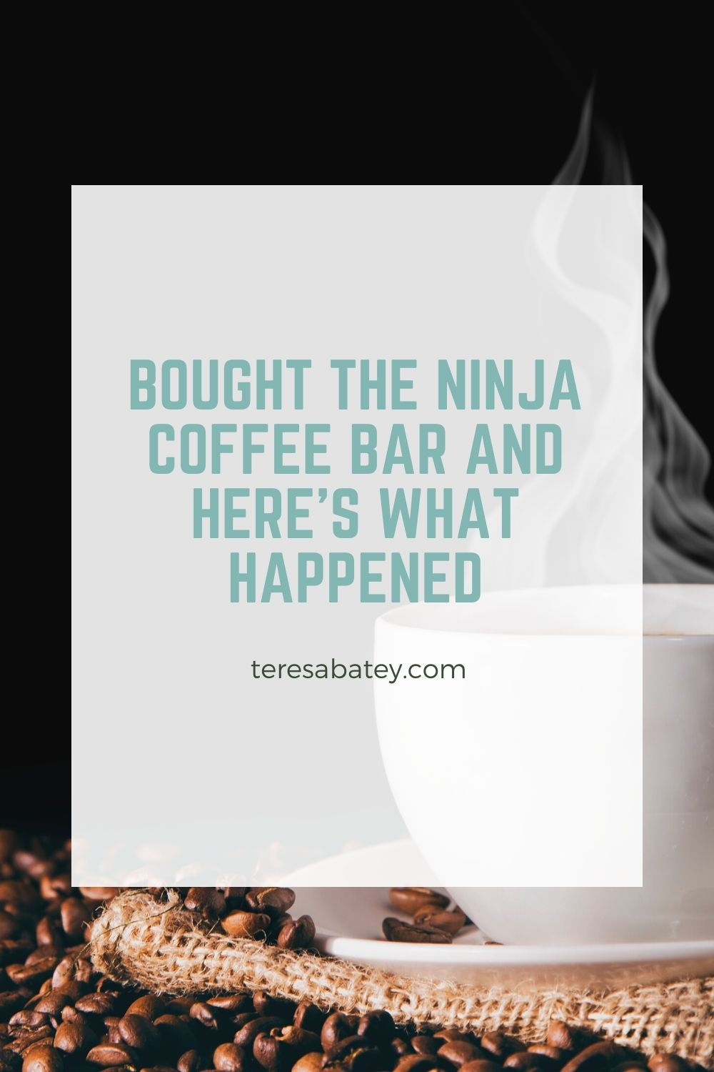 Bought the Ninja Coffee Bar and Here's What Happened