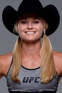 The Texas Witch Andrea KGB Lee actress UFC fighter