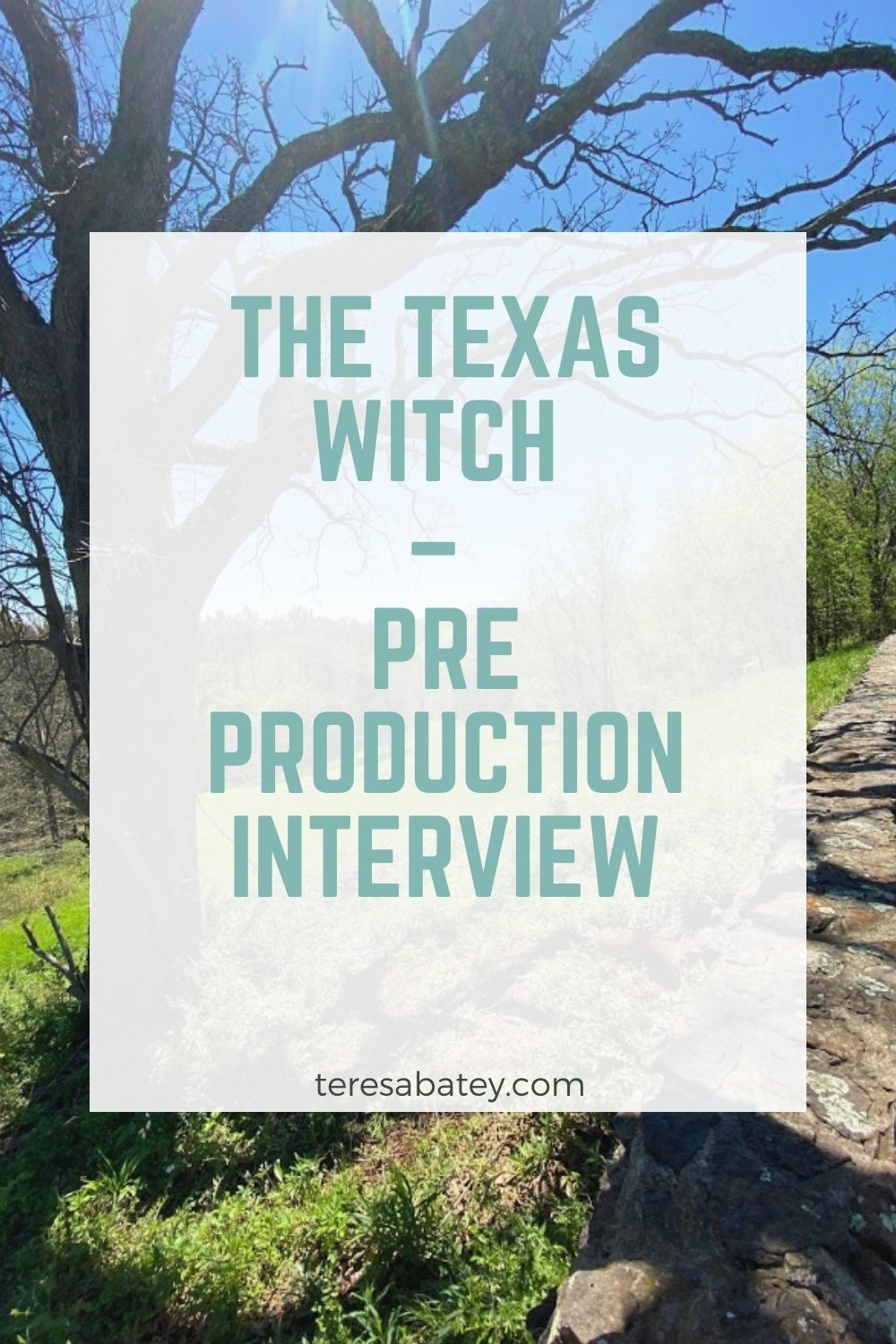 The Texas Witch – Pre Production Interview