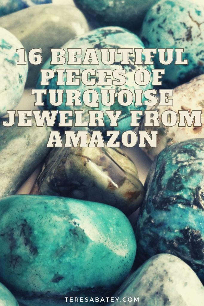 16 Beautiful Pieces of Turquoise Jewelry from Amazon