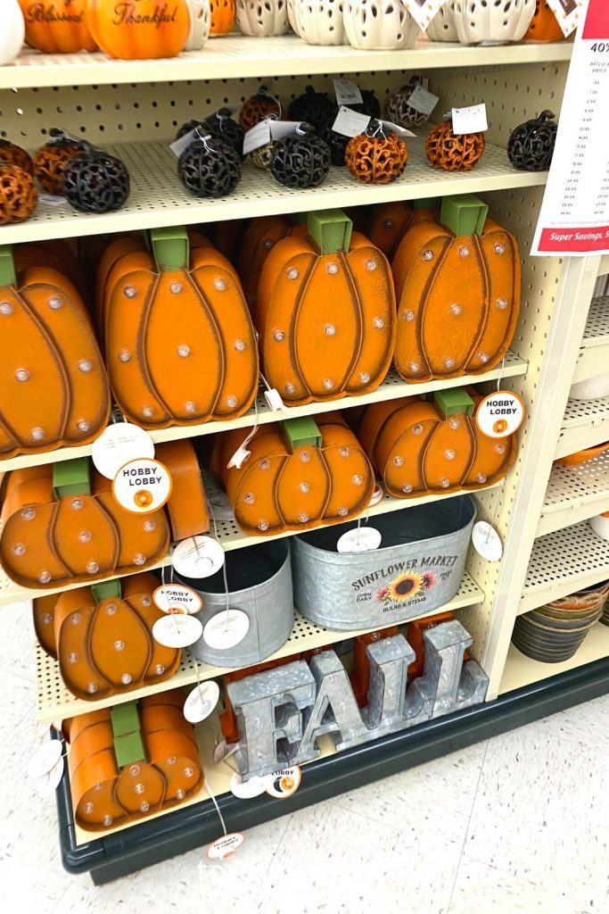 My Favorite Fall Hobby Lobby Finds
